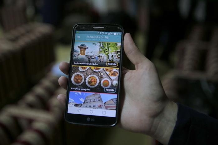 aplikacija za pametne telefone