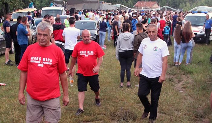 U Nezuku se okupljaju učesnici Marša mira